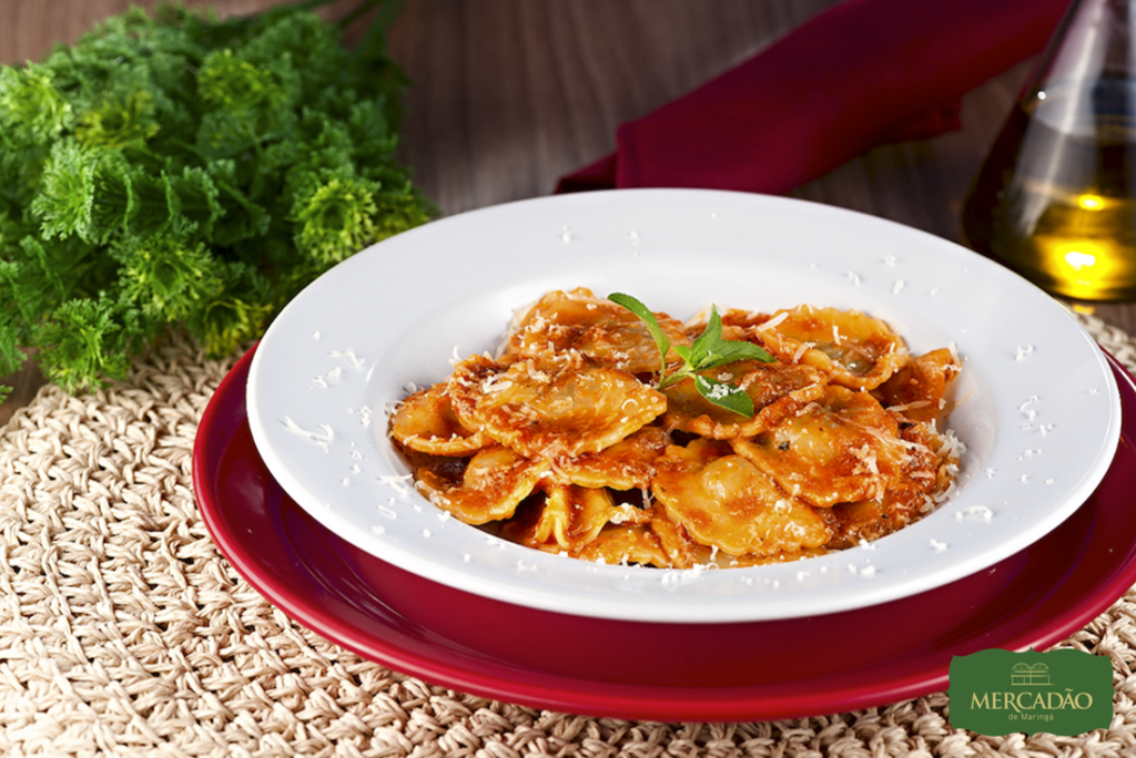 Na imagem, o prato Sorrentino da Osteria Don Luiggi para a segunda edição do Mercadão Week.
