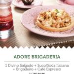 Na imagem, a oferta da Adore Brigaderia, para a segunda edição do Mercadão Week.