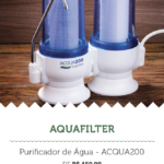Na imagem, a oferta da Aquafilter, para a segunda edição do Mercadão Week.