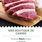 Na imagem, a oferta do Ribs Boutique de Carnes, para a segunda edição do Mercadão Week.