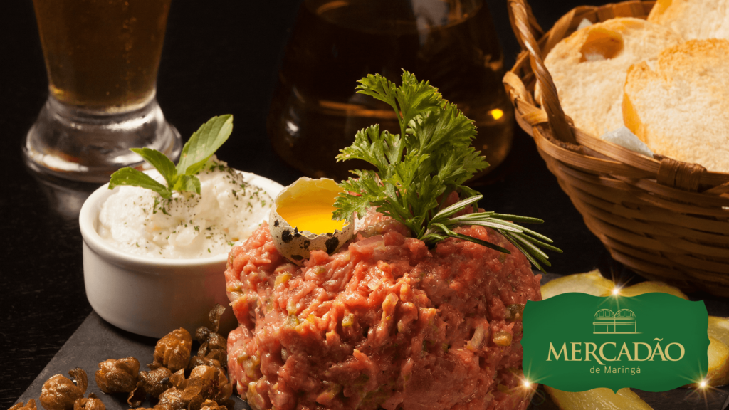 Alamanda Bistrô - Steak Tartare.