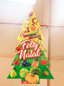 Arvore de Natal - Da fruta ao doce