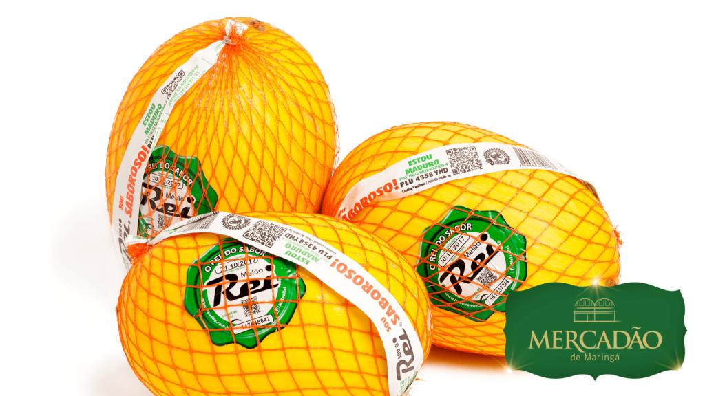 Da Fruta ao Doce - Melão rei - R$ 7,99 kg