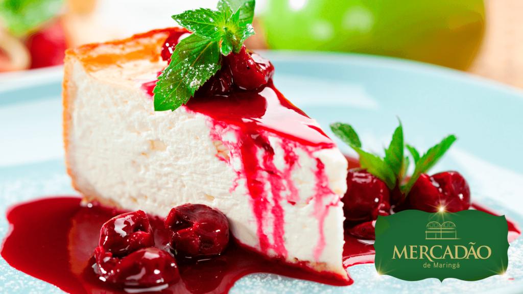 Delícia Mercadão - Cheesecake - R$ 39,90 kg