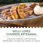 Na imagem, a oferta do Willy Lopes Churros Artesanal, para a segunda edição do Mercadão Week.