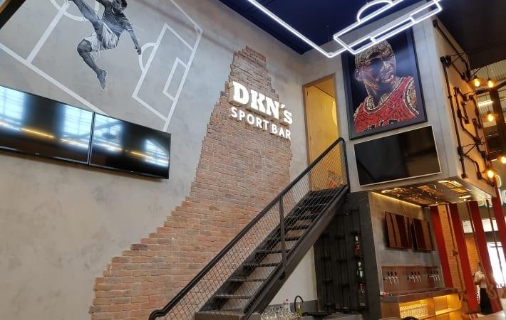 DKN's Sabores da América agora é DKN's Sport Bar